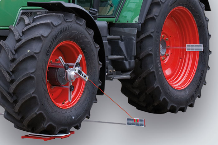 Toe aligner for agriculture machinery HD-30 LM
