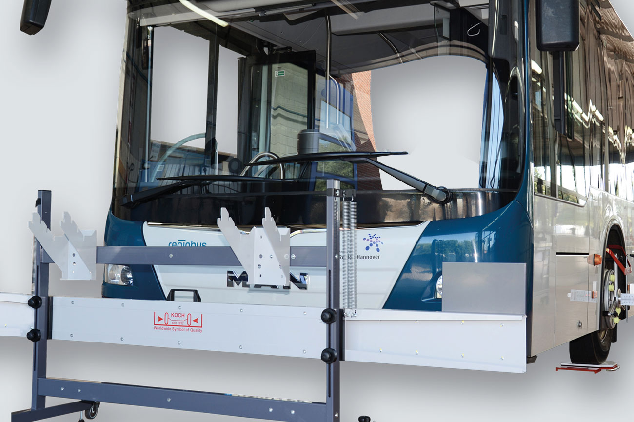 Wheel aligner for commercial vehicles HD-40