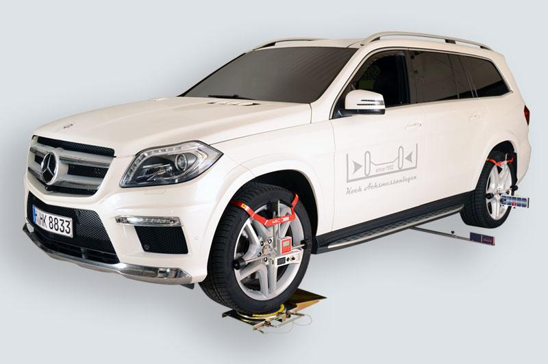 Wheel aligner for Car HD-10 EasyTouch Van