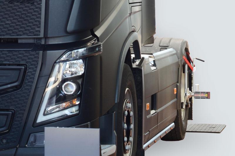 Alineadores de ruedas para vehículos comerciales HD-30 EasyTouch