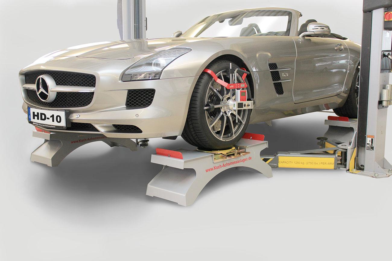 Alineadores de ruedas para coches y furgonetas HD-10 EasyTouch