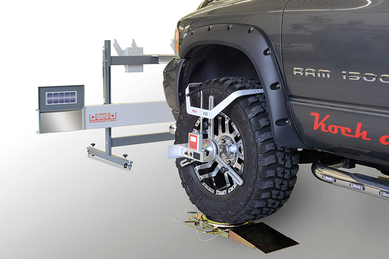 Alineadores de ruedas para coches y furgonetas HD-1500
