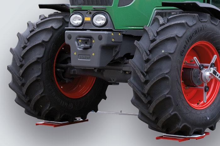 Dispositivo de medición láser para tractores y maquinaria agrícola