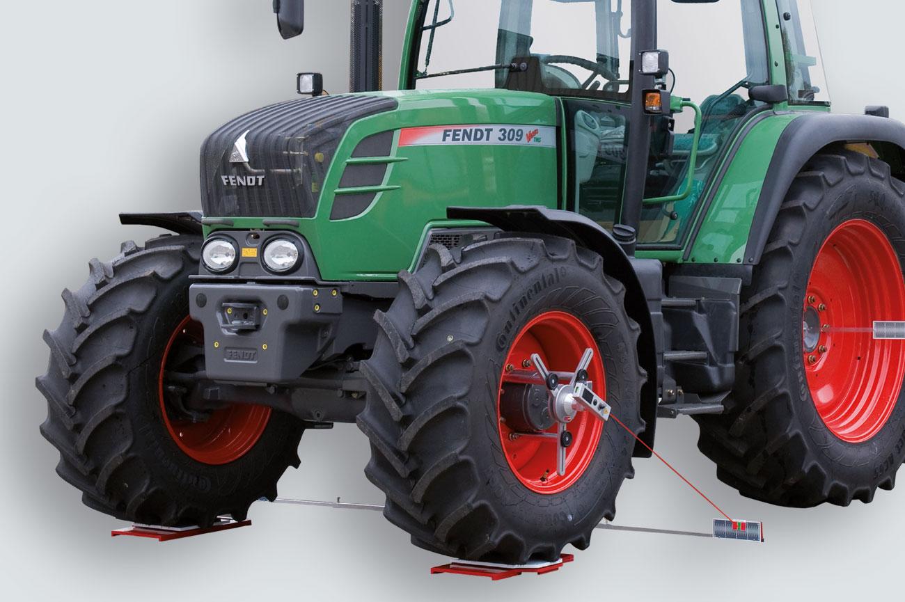 Alineador de ruedas para maquinaria agrícola HD-30 LM