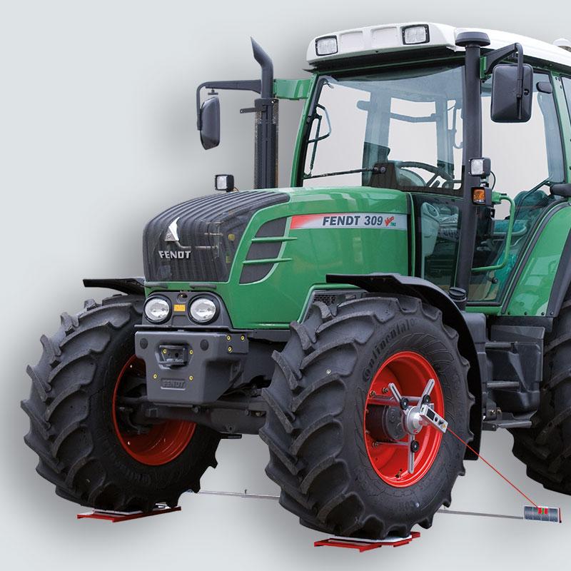 Adaptadores para maquinaria agrícola
