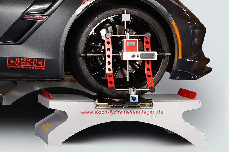 Alineación de las ruedas para una carrera óptima