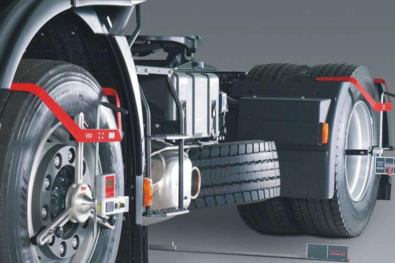 Achsmessgeräte für Nutzfahrzeuge HD-30 EasyTouch