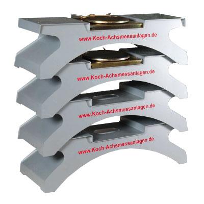 Aluminium Absetzbrücken