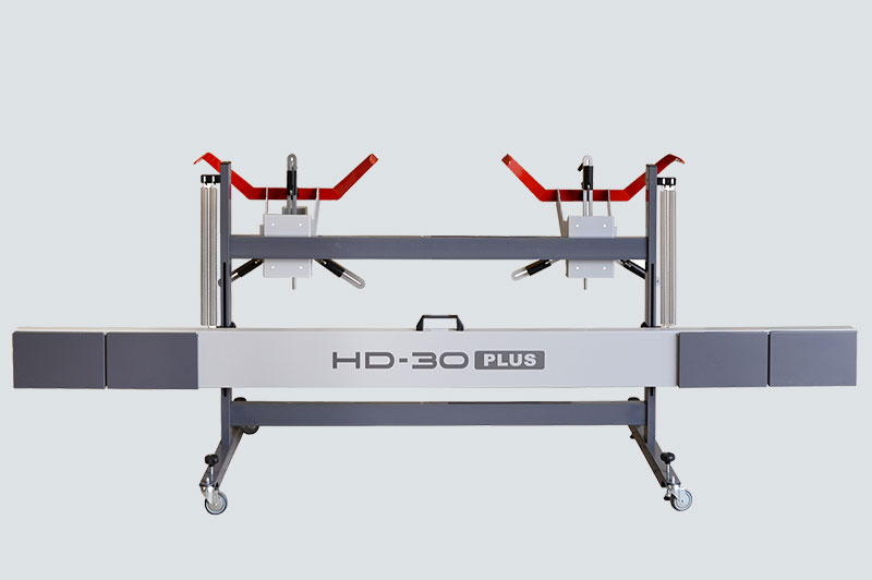 Achsmessgeräte für Nutzfahrzeuge HD-40