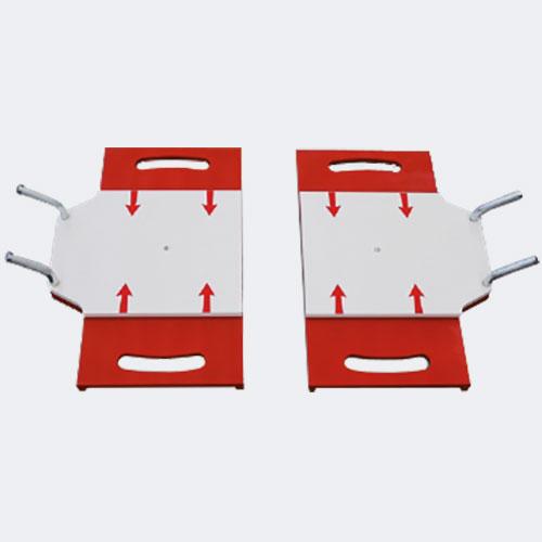 Achsmessgeräte für Nutzfahrzeuge Zusatzdrehplatten